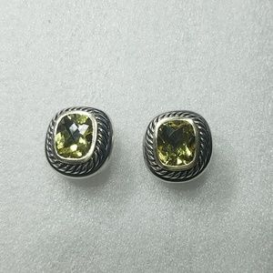 David Yurman Lemon Quartz Albion Earrings